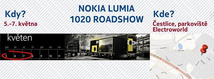 Ochranka Roadshow NOKIA LUMIA 1020