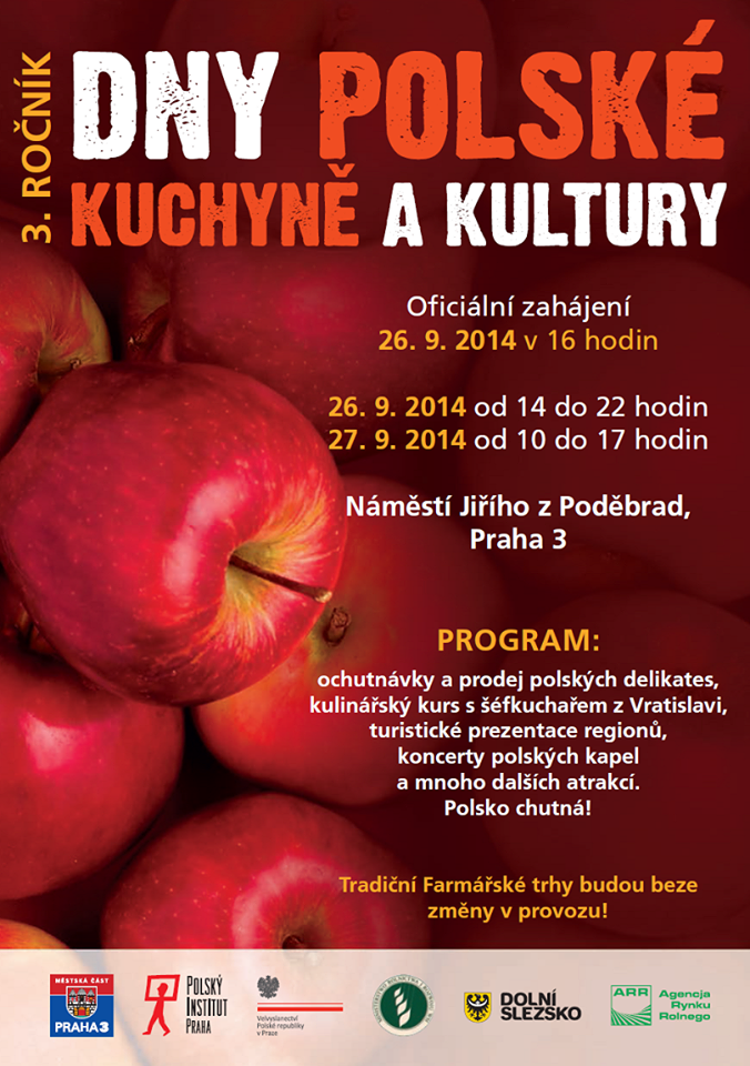 Ostraha a úklid akce Dny Polské kuchyně a kultury 2014
