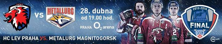 Security servis 6.FINÁLE KHL HC LEV PRAHA – METALLURG MAGNITOGORSK