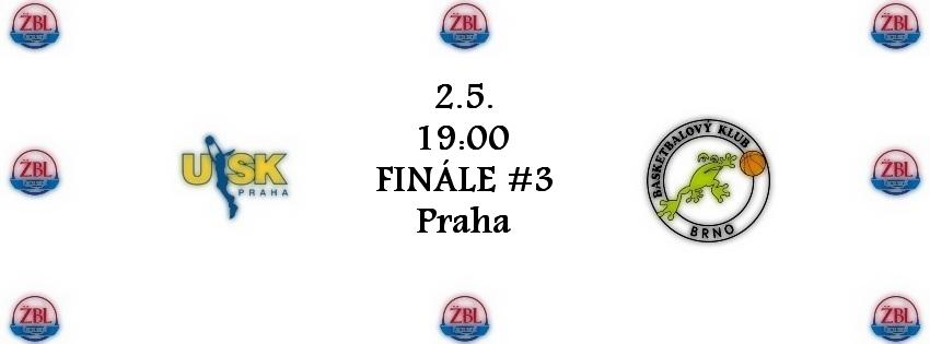 Ostraha finále ŽBL USK Praha – Brno