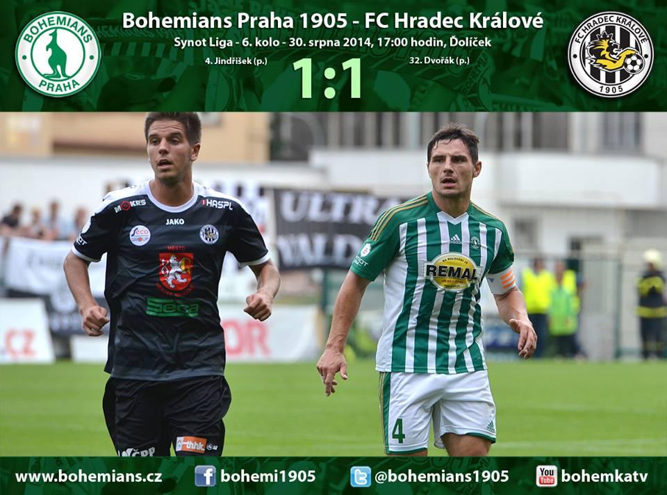 Ostraha fotbalového zápasu Bohemians 1905 – FK Hradec Králové