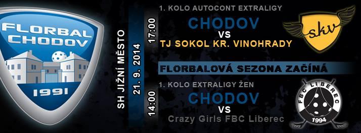 Ostraha florbal autocont extraligy Chodov – Vinohrady