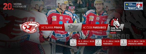 Ostraha předkola PLAY – OFF HC Slavia Praha – HC ČSOB Pardubice