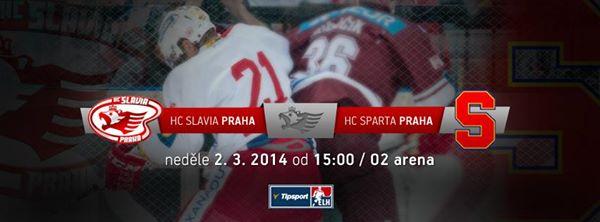 Ostraha ELH HC Slavia Praha – HC Sparta Praha
