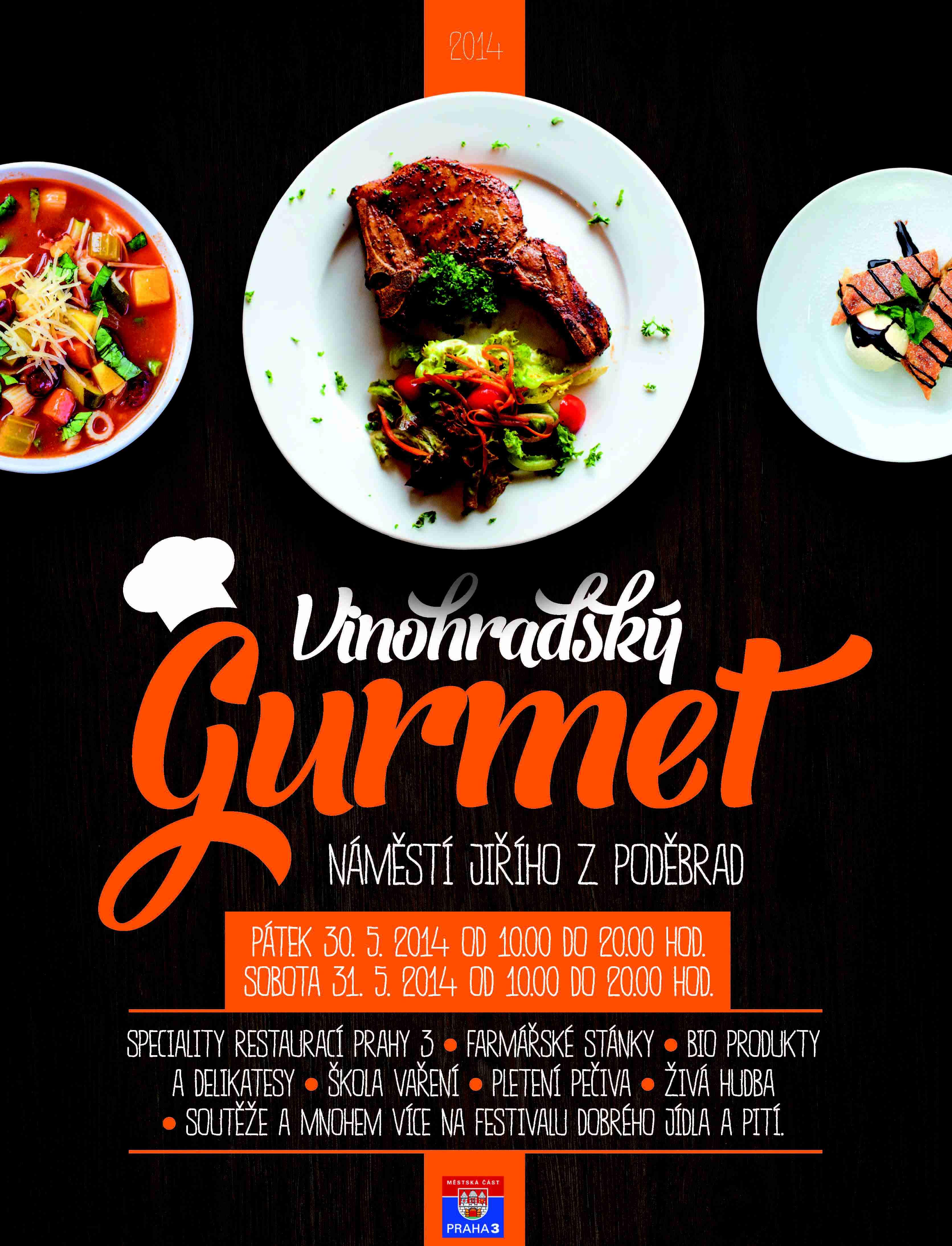 Ostraha a úklid Vinohradský Gurmet 2014