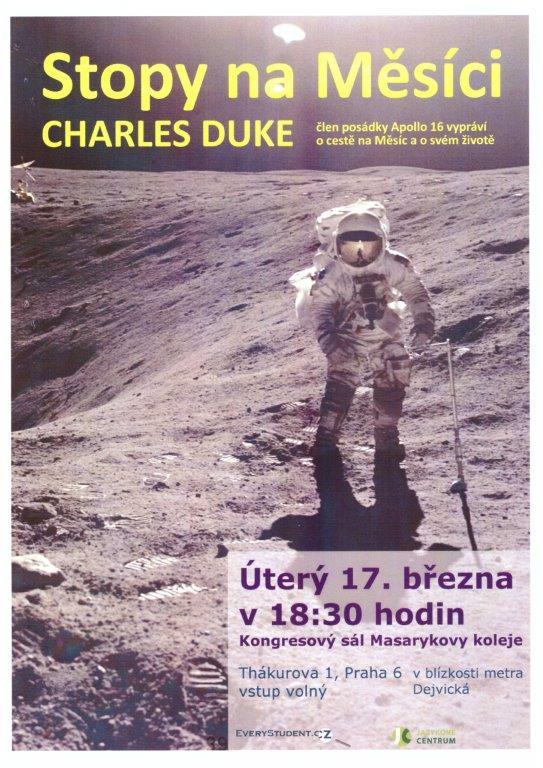 Bezpečnostní agentura ALI 21, s.r.o. zajistila kompletní bezpečnostní servis astronautovi Charlesovi Dukovi a jeho manželce. Člen posádky Apollo 16