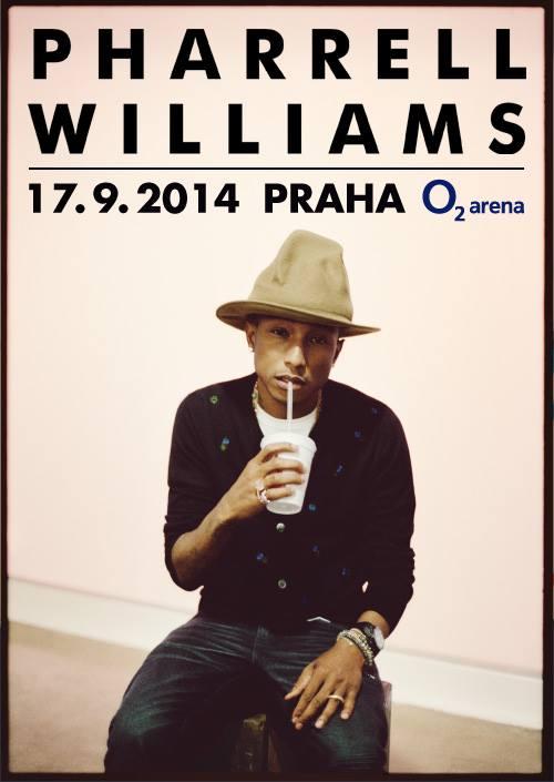 Ostraha koncertu Pharell Williamse v O2 Aréně